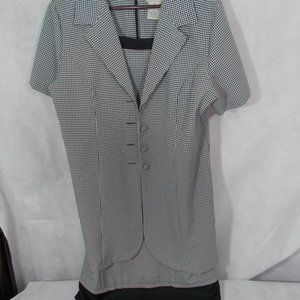 EUC dress with jacket in one by Basic Editions 16